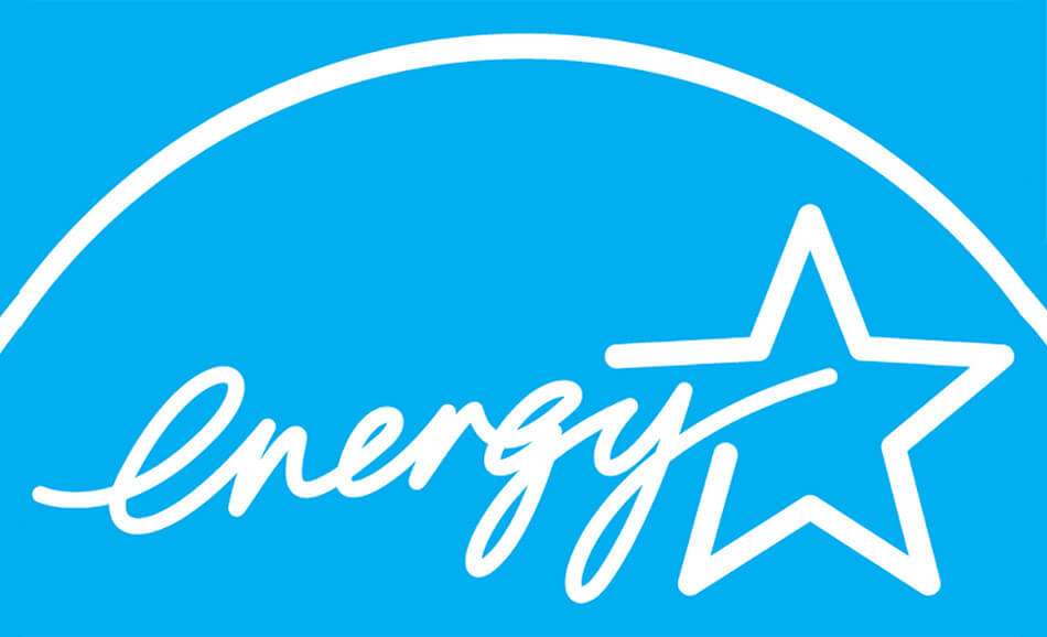 Buy energy efficient appliances by looking for the energy star logo