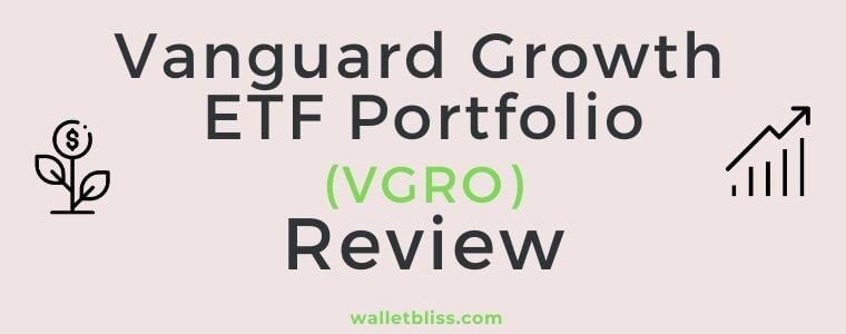 VGRO review showing the holding, fees, performance, returns and how it compares to XGRO and other ETFs