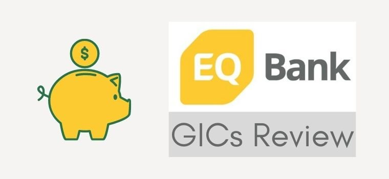 EQ Bank GIC Review showing the rates and features