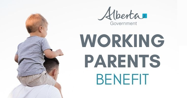 Alberta Government Working Parents Benefit of $561 per child