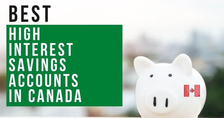 list of the top high-interest savings accounts in Canada