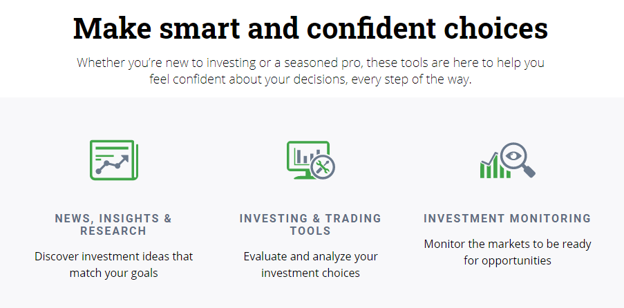 Questrade is another great Robinhood Canada alternative