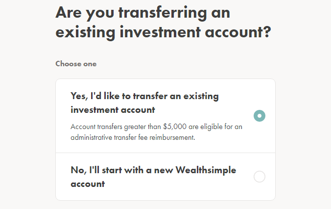 how to transfer TFSA to Questrade