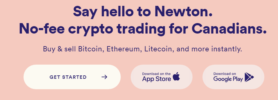 Newton fees: no trading commission and zero fees to deposit and withdraw CAD