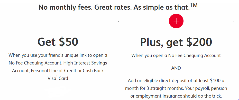 Earn up to $250 through Simplii promotion for new clients